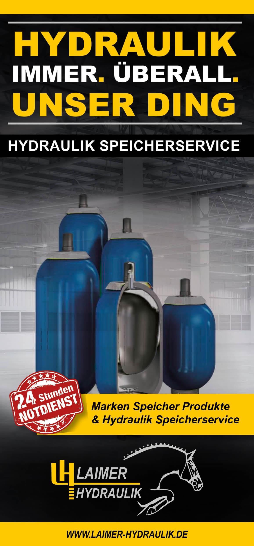 Hydraulikspeicher Service der Laimer Hydraulik GmbH