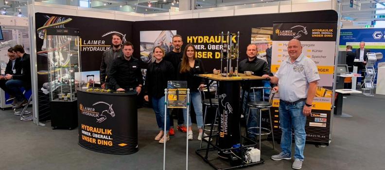Laimer Hydraulik auf der FMB 2018 – der Zuliefermesse für Maschinenbau